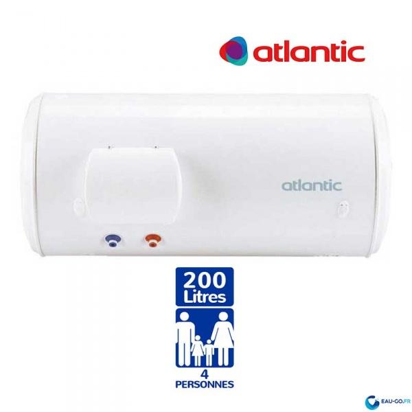 chauffe eau electrique 200l atlantic chauff o horizontal. Black Bedroom Furniture Sets. Home Design Ideas