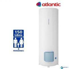 Chauffe eau électrique ATLANTIC 150L Zénéo Vertical sur Socle Résistance Stéatite Protection Dynamique