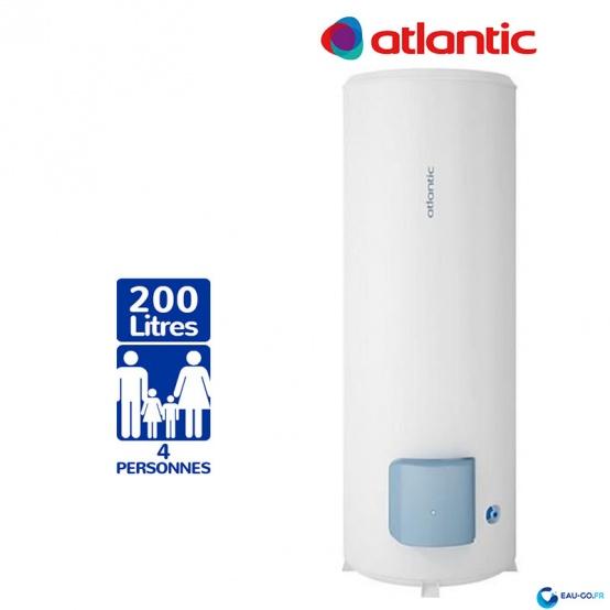 Chauffe eau electrique 200L ATLANTIC Zénéo Vertical sur Socle