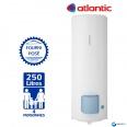 Chauffe eau électrique ATLANTIC 250L Zénéo Vertical sur Socle Résistance Stéatite Protection Dynamique ref 154325