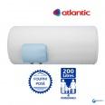 Chauffe eau électrique ATLANTIC 200L Zénéo Horizontal Sortie Basse Résistance Stéatite Protection Dynamique