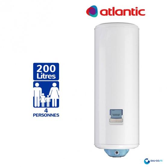 Chauffe eau électrique ATLANTIC 200L Vizengo ref 154120