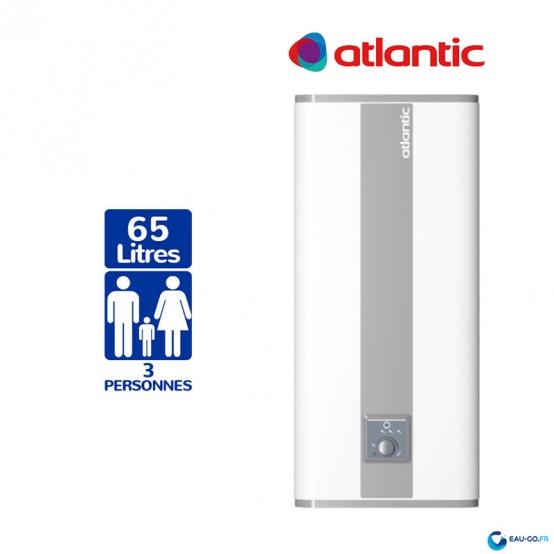 Chauffe eau electrique 65L ATLANTIC Linéo ref 157106