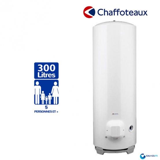 Chauffe eau électrique CHAFFOTEAUX 300L HPC2 Vertical sur Scole Stéatite Protection Active