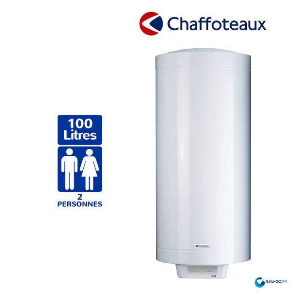 chauffe eau electrique 100l chaffoteaux hpc2 vertical. Black Bedroom Furniture Sets. Home Design Ideas