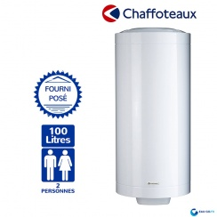 chauffe eau electrique 100l chaffoteaux st atite vertical mural. Black Bedroom Furniture Sets. Home Design Ideas