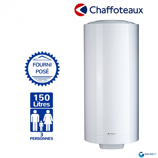 Chauffe eau électrique CHAFFOTEAUX 150L Stéatite ref 3000573