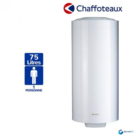 Chauffe eau électrique CHAFFOTEAUX 75L Stéatite ref 3010797