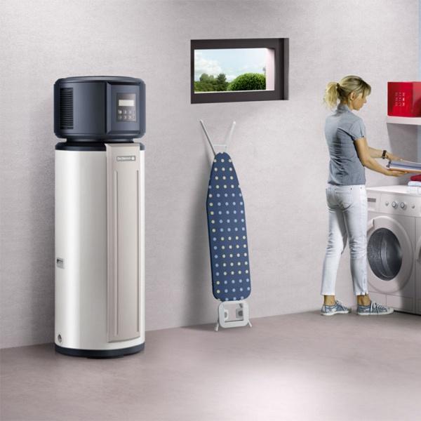 chauffe eau thermodynamique 230l de dietrich kaliko livr. Black Bedroom Furniture Sets. Home Design Ideas