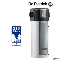 Chauffe eau Thermodynamique DE DIETRICH Kaliko Air Extérieur Vertical sur Socle Stéatite Protection Active