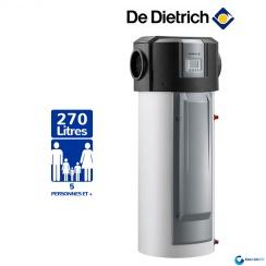 Chauffe eau Thermodynamique DE DIETRICH 270L Kaliko Air Extérieur Vertical sur Socle Stéatite Protection Active