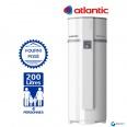 Chauffe eau Thermodynamique 200L ATLANTIC Egéo Air Ambiant Vertical sur Socle