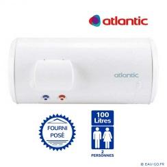 Chauffe-eau 100 L ATLANTIC Chaufféo horizontal