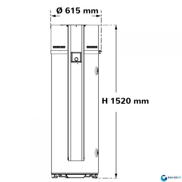 Livraison installation chauffe eau thermodynamique 200l - Installation chauffe eau thermodynamique ...