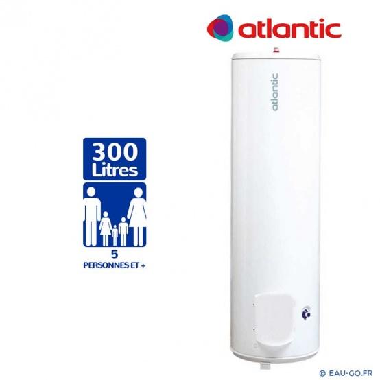 Chauffe eau electrique 300L ATLANTIC Plus sur socle CHAUFFEO ref 052130