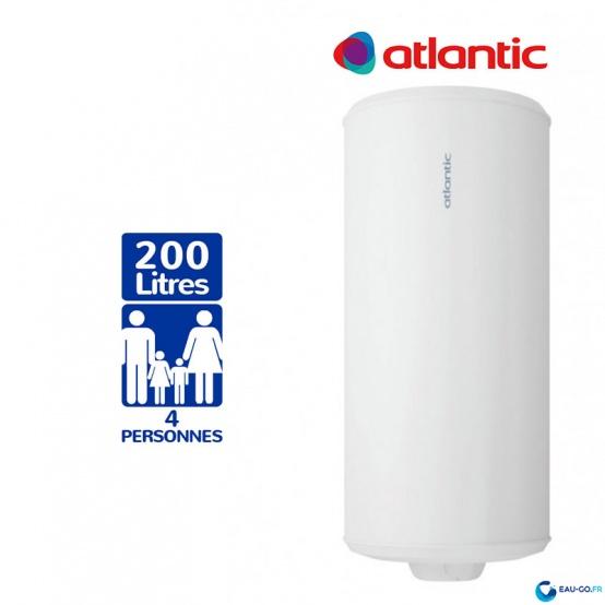 Chauffe eau electrique 200L ATLANTIC Chauffeo Plus ref 051020