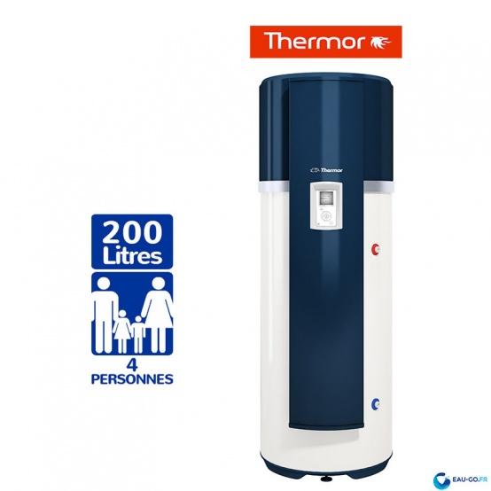 Chauffe eau thermodynamique 200l thermor a romax 4 - Chauffe eau thermodynamique thermor ...