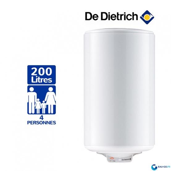 Chauffe Eau Electrique 200L DE DIETRICH Cor-Email ref 100019786