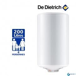 chauffe eau electrique 200l de dietrich cor email ths. Black Bedroom Furniture Sets. Home Design Ideas