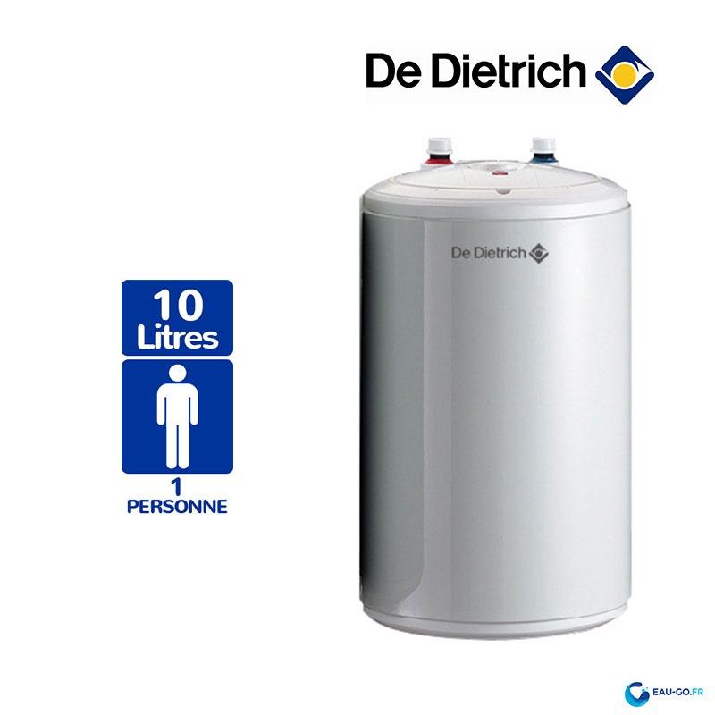 Chauffe Eau Electrique 10l De Dietrich Cor Email Bloc Sous Evier