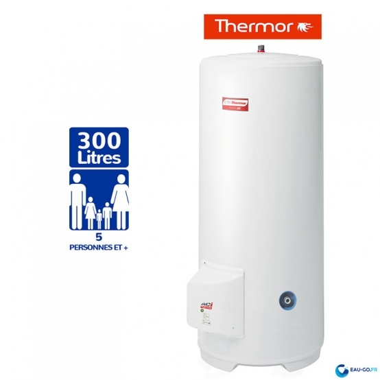 chauffe eau electrique 300l thermor duralis vertical sur socle. Black Bedroom Furniture Sets. Home Design Ideas