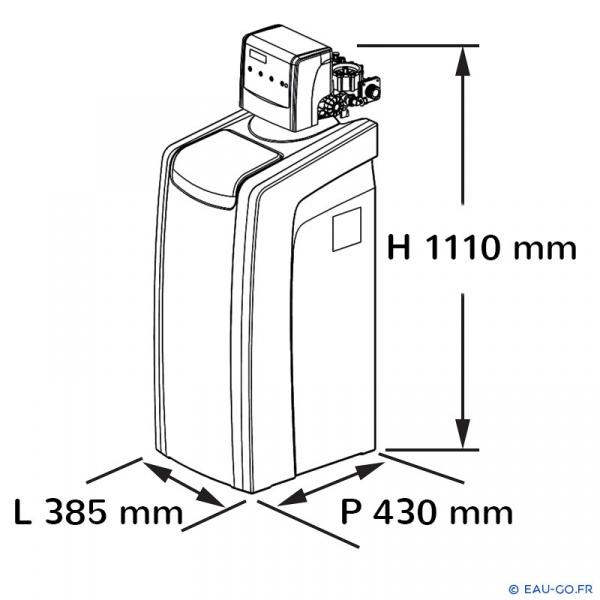 adoucisseur cillit aquium 90 bio compact livr install