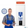 Chauffe-eau électrique 80L THERMOR MALICIO Vertical Mural : Livré & Installé à domicile