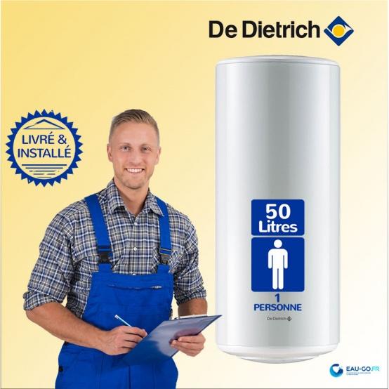 Chauffe eau électrique DE DIETRICH CEB 50L CEB ref 89789631