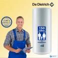 Chauffe-eau électrique 150L DE DIETRICH CES Vertical Mural : Livré & Installé à domicile