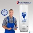 Chauffe-eau électrique 200l CHAFFOTEAUX Blindé Stable : Livré & Installé à domicile