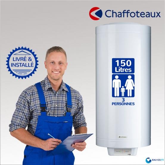 livraison installation chauffe eau electrique 150l chaffoteaux hpc2. Black Bedroom Furniture Sets. Home Design Ideas