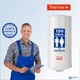 Chauffe-eau électrique 100L THERMOR Duralis - Vertical Mural - Étroit : Livré & Installé à domicile