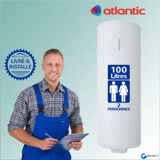 chauffe-eau-electrique-100L-atlantic-chauffeo-ref-021110