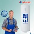 Chauffe-eau électrique 100L ATLANTIC Chaufféo - Vertical Mural : Livré & Installé à domicile