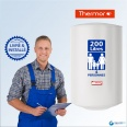Chauffe-eau électrique 200L THERMOR Steatis Vertical Mural : Livré & Installé à domicile