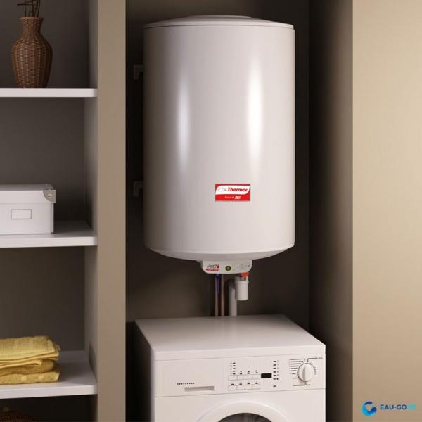 chauffe eau lectrique 100l thermor duralis vertical. Black Bedroom Furniture Sets. Home Design Ideas