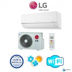 Climatiseur LG STANDARD PLUS WIFI - Livré & Installé