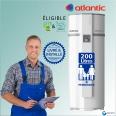 Chauffe eau Thermodynamique 200L ATLANTIC Egéo ref 232512