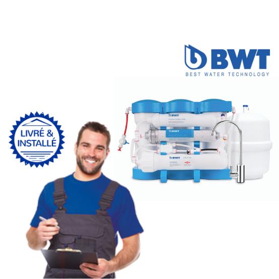 Adoucisseur BWT P'ure Aqacalcium: Livré & Installé à domicile