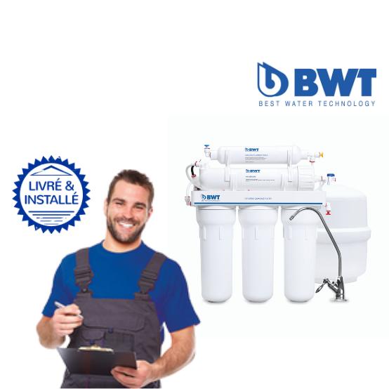 Adoucisseur BWT Osmoseur Standard: Livré & Installé à domicile