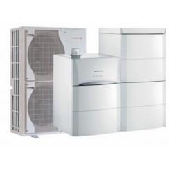 Pompe à chaleur air-eau  De Dietrich Alezio G HYBRID V200 GAZ Naturel - Livrée & installée à domicile