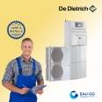 Pompe à chaleur air-eau  De Dietrich Alezio O HYBRID V200