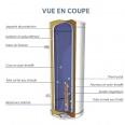 Chauffe eau électrique CHAFFOTEAUX 200L Stéatite ref 3000574