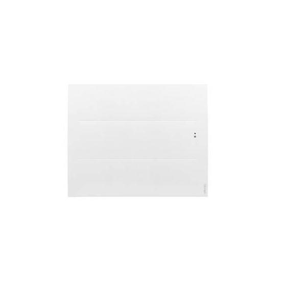 Radiateur électrique Oniris intelligent connecté  pilotage à distance horizontal 1000W blanc carat