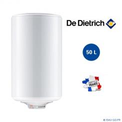 Chauffe eau électrique DE DIETRICH 50L  Cor-Email THS Mural Vertical Résistance Stéatite Protection Dynamique