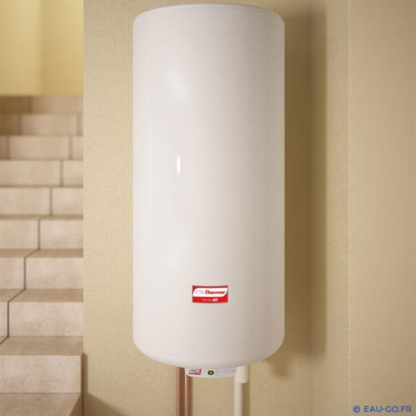 chauffe eau electrique 100l thermor duralis horizontal. Black Bedroom Furniture Sets. Home Design Ideas