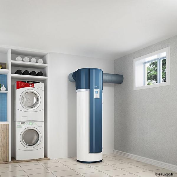 Chauffe eau thermodynamique 200l thermor a romax 4 - Chauffe eau thermodynamique installation ...