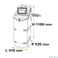 dimensions-adoucisseur-cillit-access-16l-ref-C0025202A