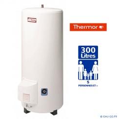 Chauffe eau électrique THERMOR 300L Stéatis Vertical sur Socle Résistance Stéatite Protection Passive