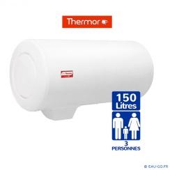 Chauffe eau électrique THERMOR 150L Duralis Mural Horizontal Sortie Basse Résistance Séatite Protection Dynamique